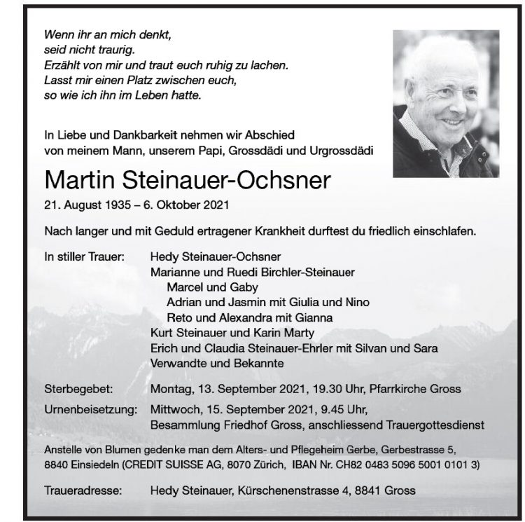 Martin Steinauer-Ochsner