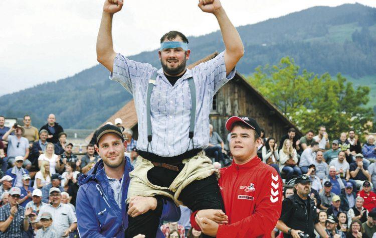 Adrian Steinauer gewinnt Muni Hector