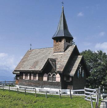 Haggenegg-Kapelle  wird 100-jährig