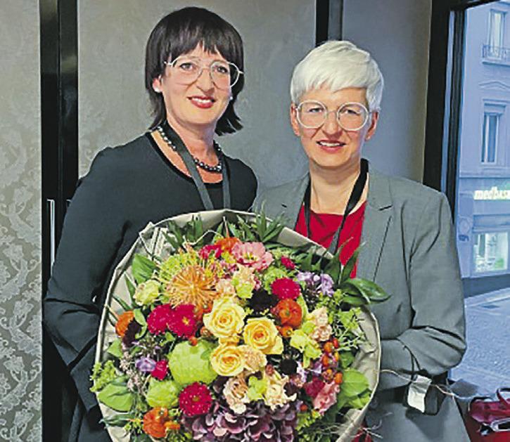 Präsidentinnenwechsel bei den KMU Frauen Schwyz