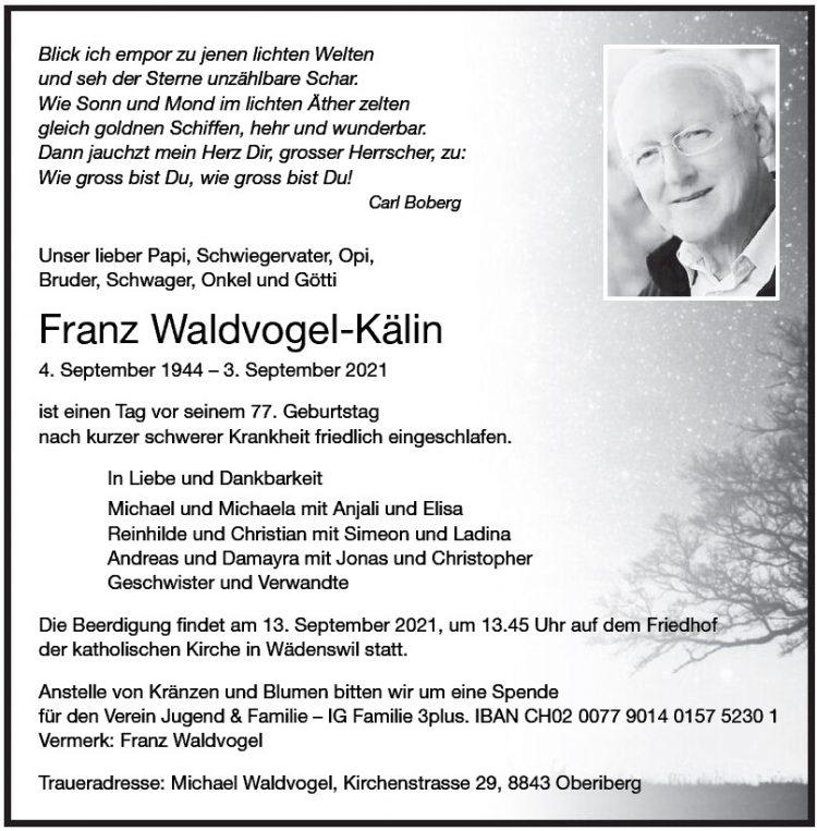 Franz Waldvogel-Kälin