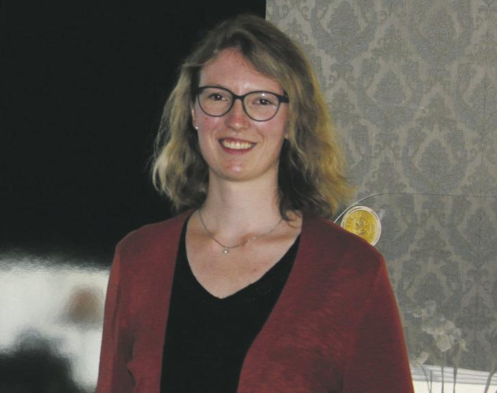 Denise Egli präsentierte ihr  Mobilitätskonzept für das Dorf Einsiedeln