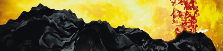 Aufbau von Vulkanen