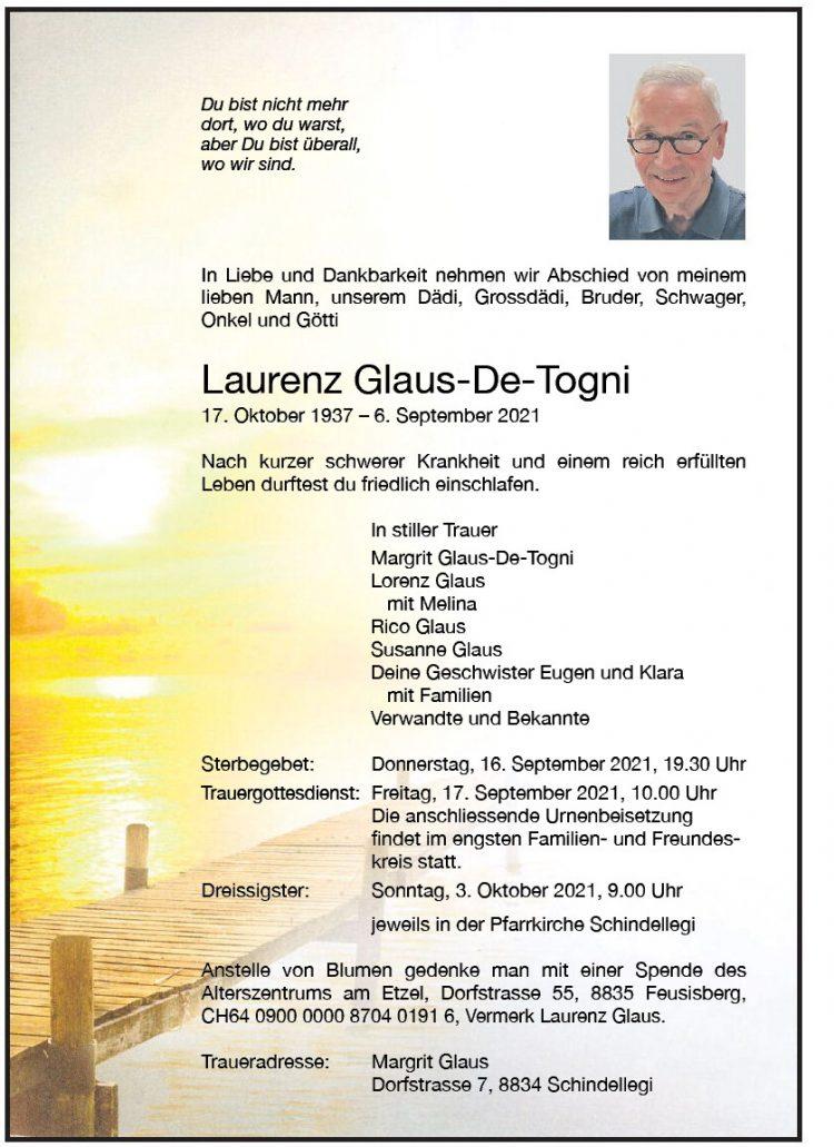 Laurenz Glaus-De-Togni