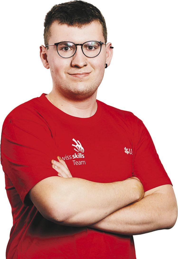 Maurizio Tschirky ist der einzige Schwyzer  Teilnehmer an den EuroSkills 2021