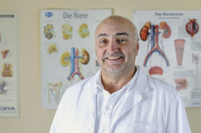 Klinik für Urologie:  Vertrauen steht an oberster Stelle