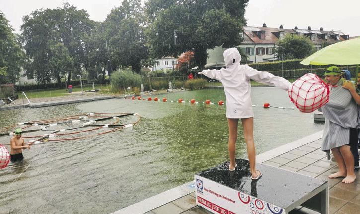 Eine «nasse» aber «tolle»  Schweizermeisterschaft
