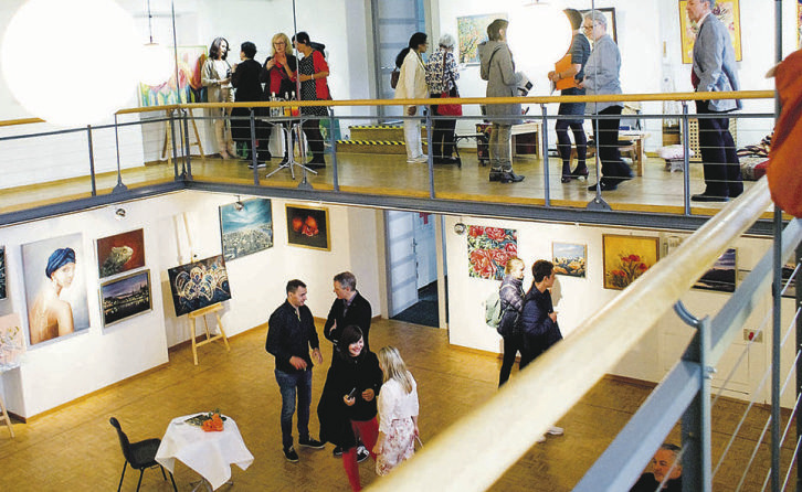 Bilderausstellung des  Kulturvereins Dialog