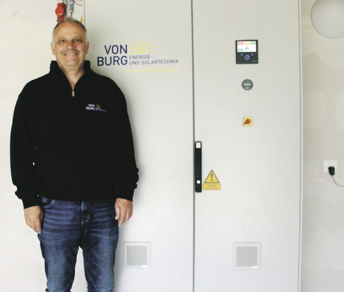 Daniel von Burg gewinnt den Energiestadt Förderpreis