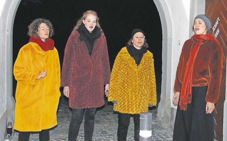 Faszinierende Frauenstimmen  ums Kloster Einsiedeln