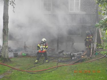 Einsiedeln: Brand eines Einfamilienhauses