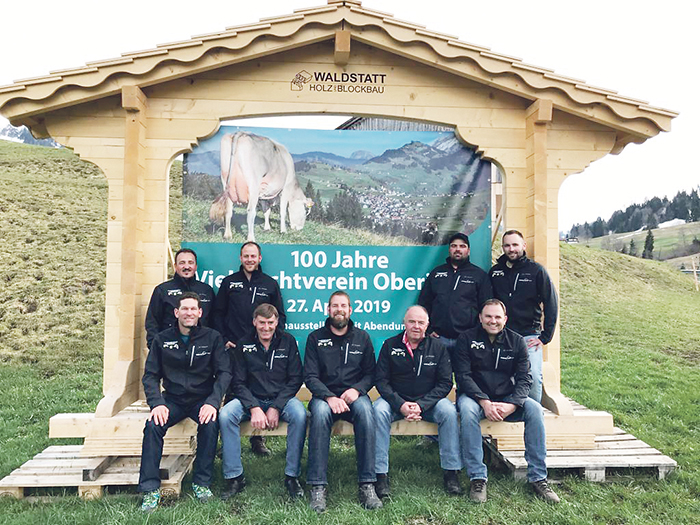 Jubiläumsviehausstellung in Oberiberg