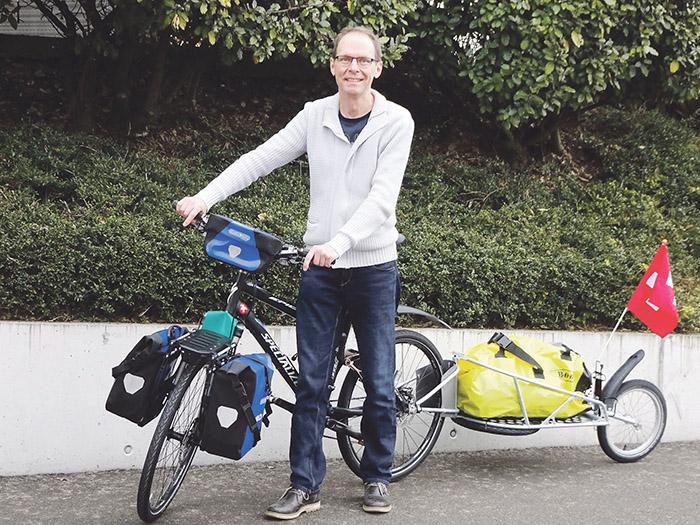 Die Bike-Reise seines Lebens