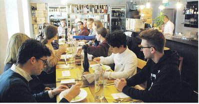 Stiftsschule: 16'500  Mal auswärts essen