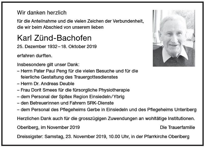 Karl Zünd-Bachofen