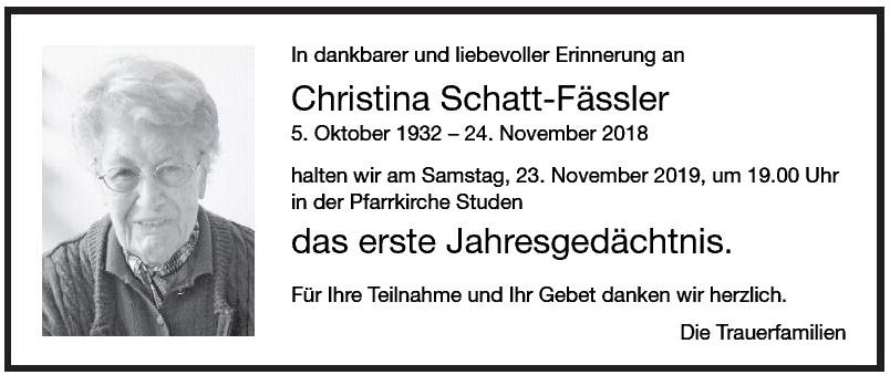 Christina Schatt-Fässler