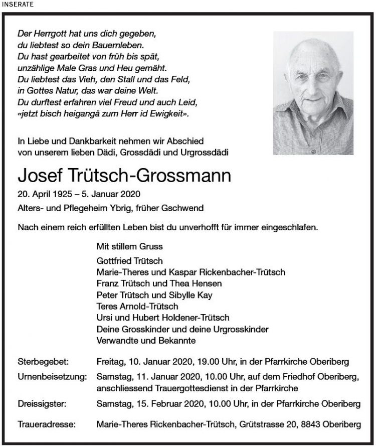 Joseph Trüsch-Grossmann