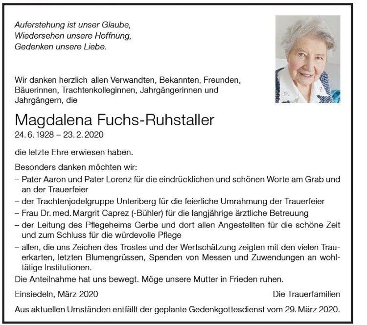 Magdalena Fuchs-Ruhstaller