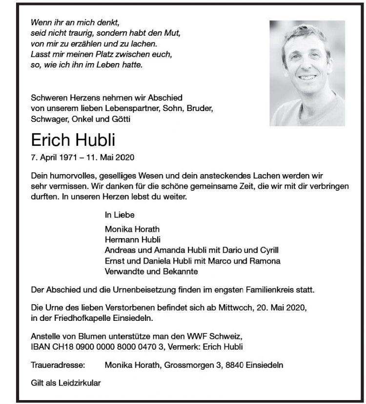 Erich Hubli
