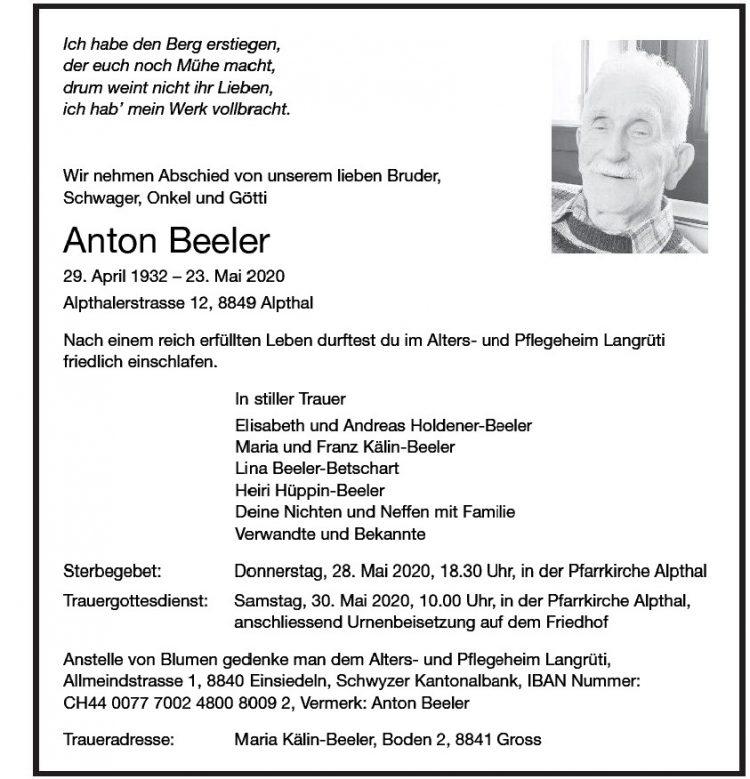 Anton Beeler