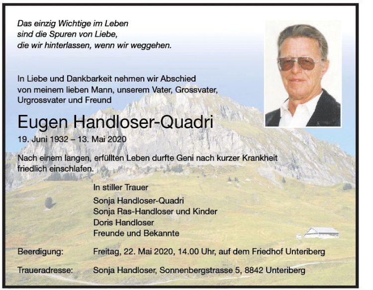 Eugen Handloser-Quadri