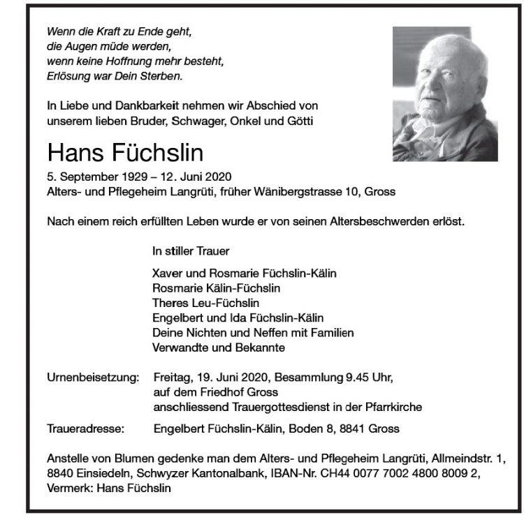 Hans Füchslin