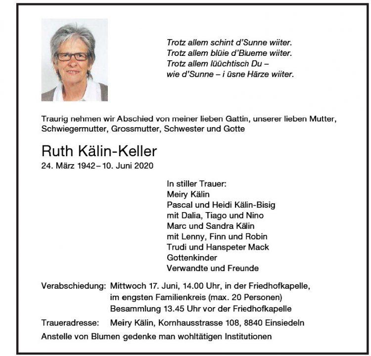 Ruth Kälin-Keller