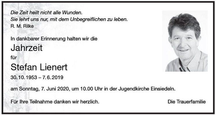 Jahrzeit für Stefan Lienert
