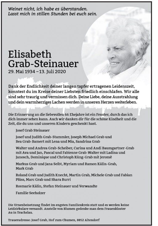 Elisabeth  Grab-Steinauer