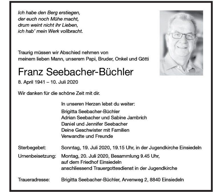 Franz Seebacher-Büchler