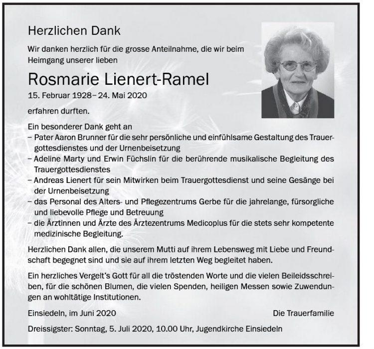 Rosmarie Lienert-Ramel