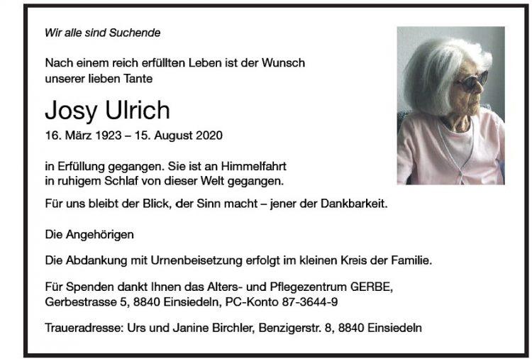 Josy Ulrich