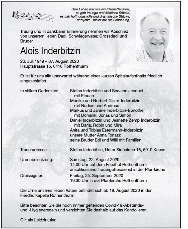 Alois Inderbitzin