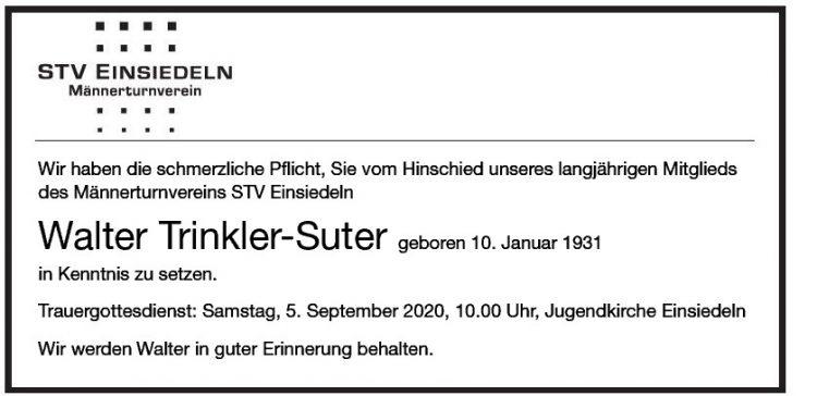Walter Trinkler-Suter