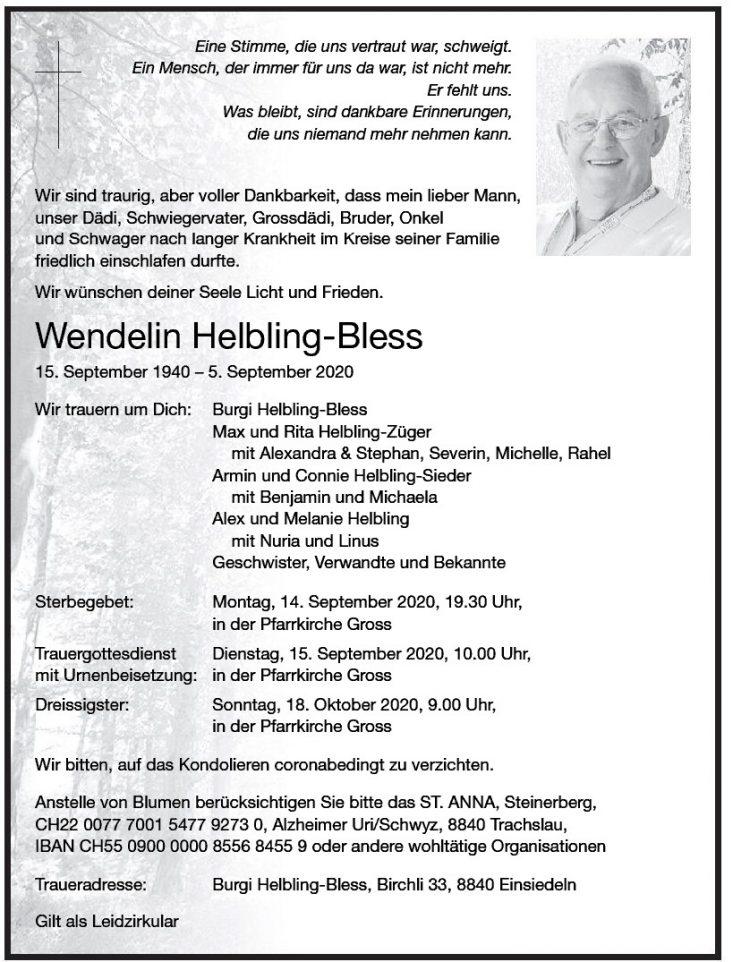 Wendelin Helbling-Bless