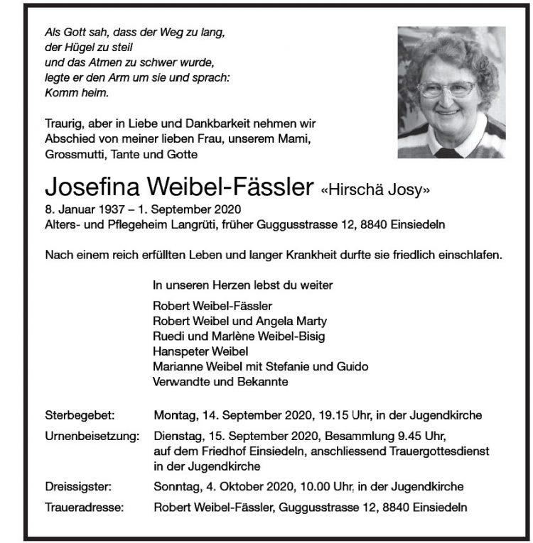 Josefina Weibel-Fässler