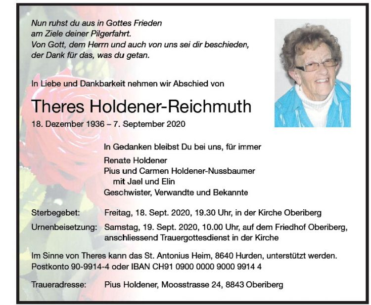 Theres Holdener-Reichmuth