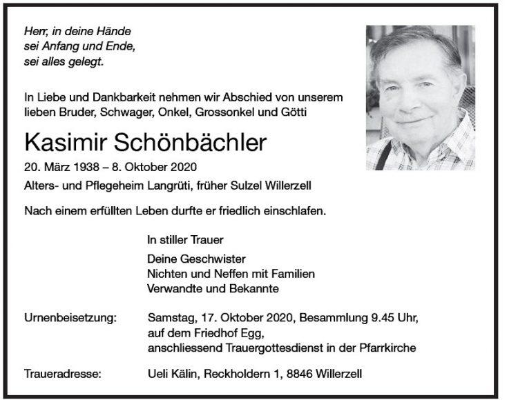 Kasimir Schönbächler