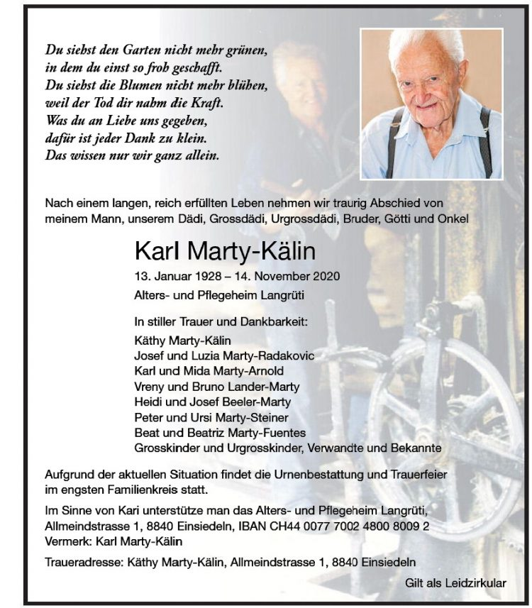 Karl Marty-Kälin