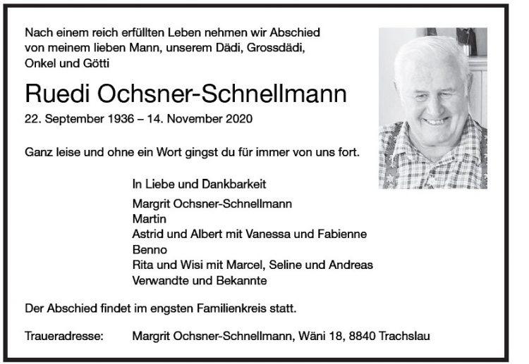 Ruedi Ochsner-Schnellmann