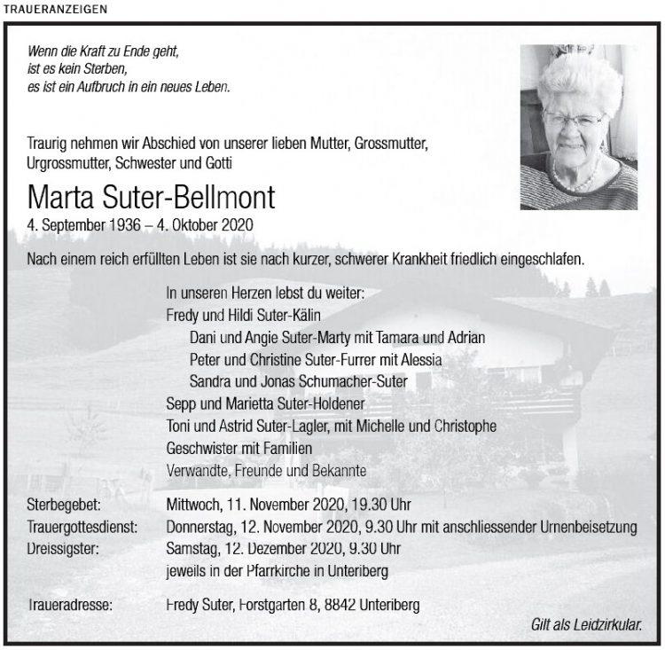 Marta Suter-Bellmont